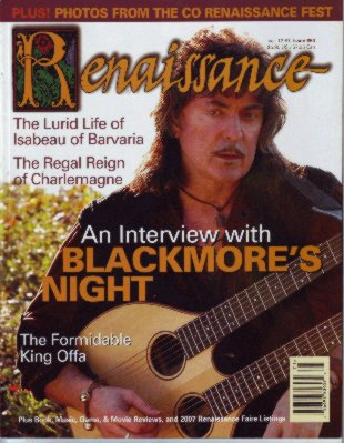 Cover of Renaissance Magazine issue 53
