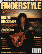 Fingerstyle Guitar magazine, issue 61 cover