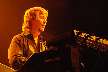 Don Airey; Quebec City, July 29, 2007. Photo: Nick Soveiko.