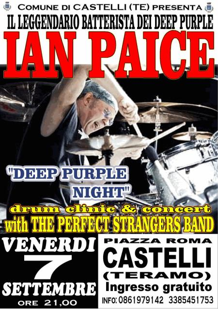 Ian Paice with The Perfect Strangers Band