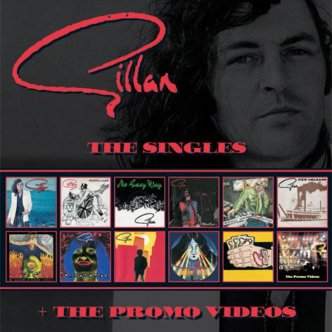 Gillan singles box set cover art