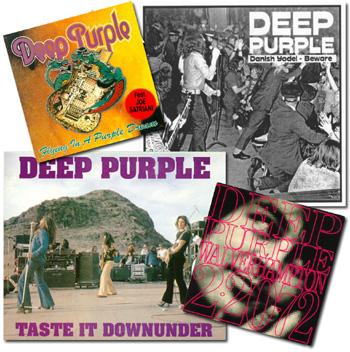 Deep Purple Live Albums