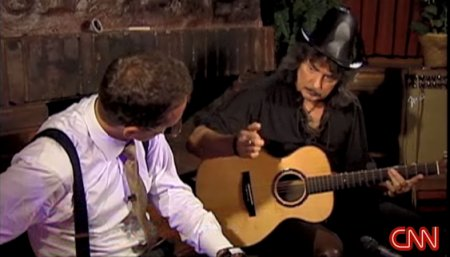 Blackmore on Quest For Rock'n'Roll show, CNN Intl, airdate Sep 22/23 2007
