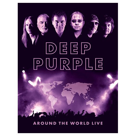 Around The World Live 4DVD box cover