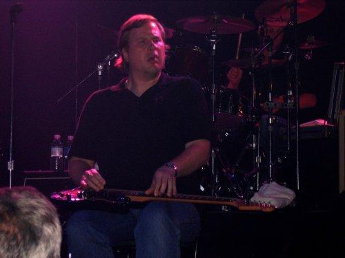 Jeff Healey in Toronto, Aug 17, 2006. Photo: Nick Soveiko.