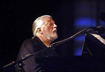 Jon Lord performing at the Nidaros Cathedral in Norway. Photo: Rasmus Heide, 2007.