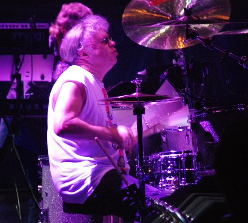 Ian Paice. Photo © 2007 Nick Soveiko, released under cc-by-sa-3.0.