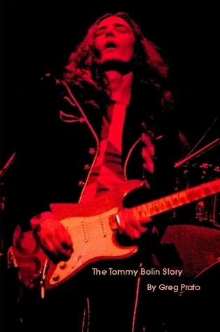 Touched By Magic: The Tommy Bolin Story (front cover)