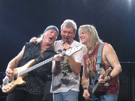 Deep Purple in Sao Paulo, Brazil, 2009 by Pedro Abib Cristales