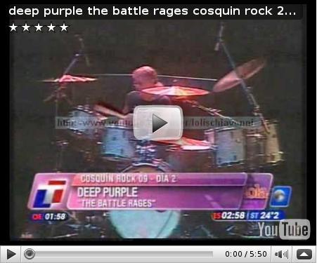 Cosquin Rock 2009 on TV