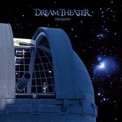 Dream Theater - Stargazer cover. Image courtesy of Roadrunner Records.