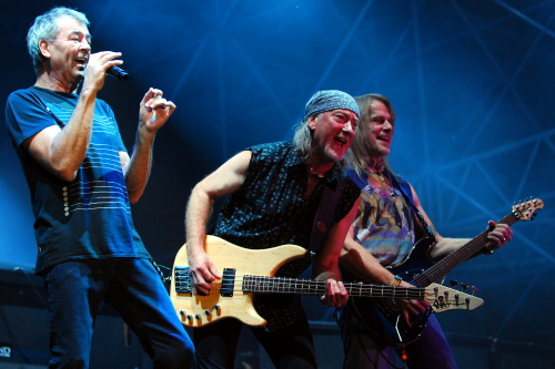 Deep Purple at the Great Wide Open festival, Muhldorf, Germany, June 13, 2009. Photo: Nick Soveiko CC-BY-NC-SA.