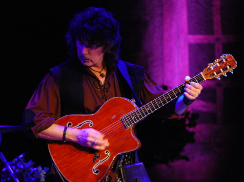 Ritchie Blackmore, House of Blues Chicago, Oct 17 2009; photo: Nick Soveiko CC-BY-NC-SA