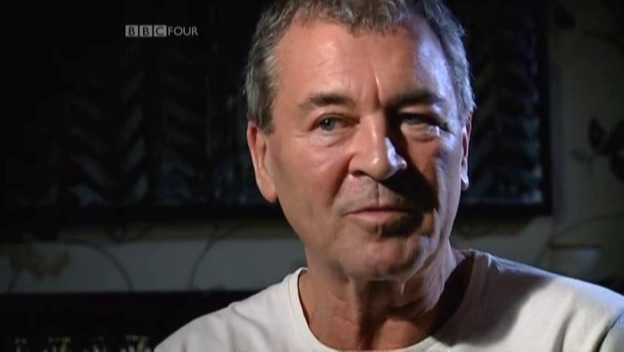 Ian Gillan being interviewed for the BBC4 documentary Heavy Metal Britannia