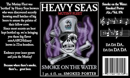 Heavy Seas Smoked Porter promo flyer