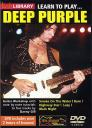 Learn To Play Deep Purple DVD cover; image courtesy of Lick Library