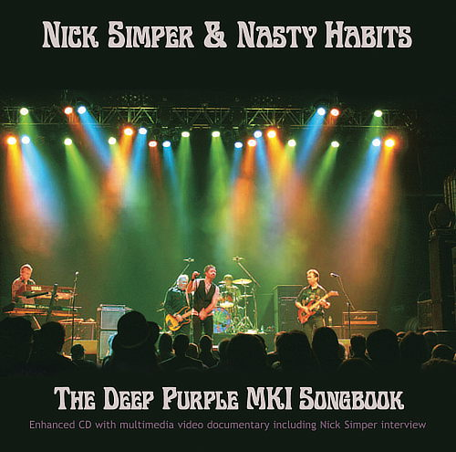 Nick Simper & Nasty Habits, Mk1 Songbook cover art; image courtesy of Wymer Records