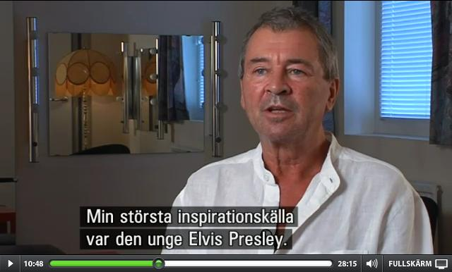 Ian Gillan interviewed for the SVT series The Seventies