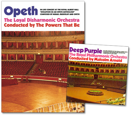 Royal Albert Hall sleeves, Opeth, Deep Purple