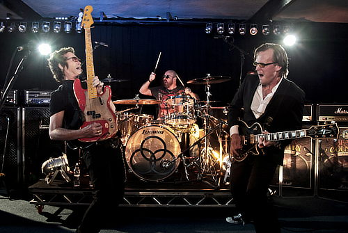 Glenn Hughes and Joe Bonamassa live in London, Sep 21, 2010; photo © Christie Goodwin
