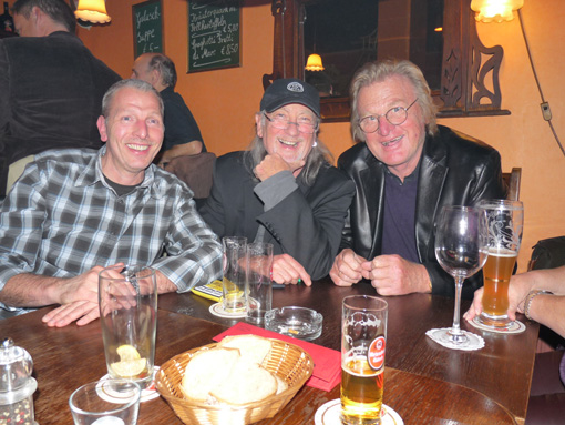 Photographers' meeting, Manfred Stoffer, Roger Glover, Didi Zill