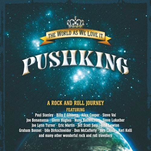 Pushking - The World As We Love It cover art