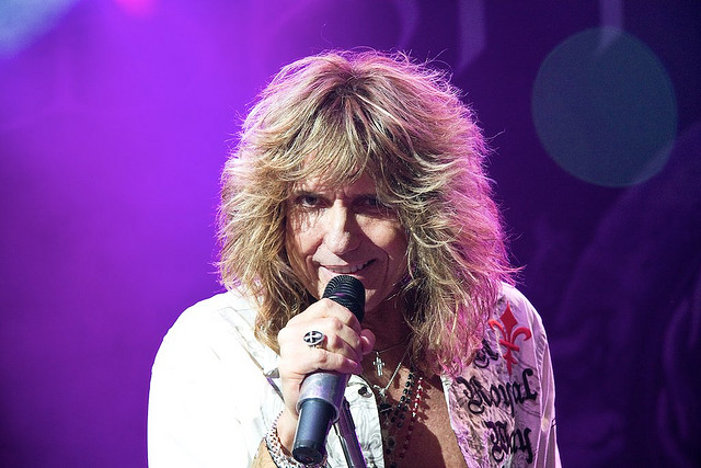 David Coverdale at the Waerdse Tempel, Netherlands, 2009; Photo: artnaz, CC-BY-NC-ND