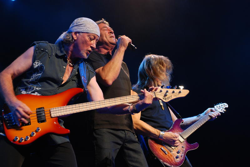 Deep Purple in Montreal, July 28 2007; Photo: Nick Soveiko CC-BY-NC-SA