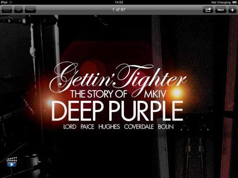 Gettin' Tighter app screenshot; image courtesy of Thompson Music