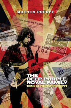 The Deep Purple Royal Family by Martin Popoff cover; image courtesy of the author