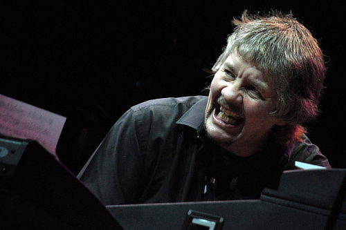 Don Airey in Quebec City, June 4, 2011; photo © Nick Soveiko CC-BY-NC-SA