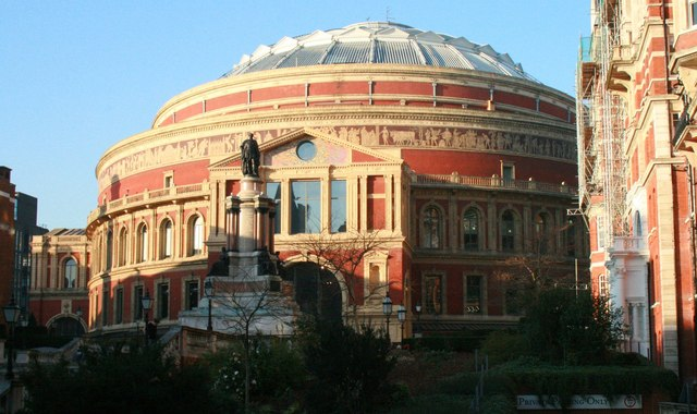 Royal Albert Hall; Photo © 2008 Paul Collins CC-BY-SA