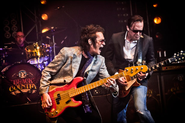 Glenn Hughes and Joe Bonamassa of Black Country Communion. Photo Credit: © Christie Goodwin