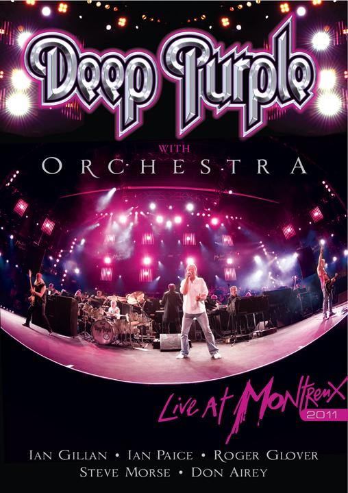 Deep Purple Live at Montreux 2011 cover art