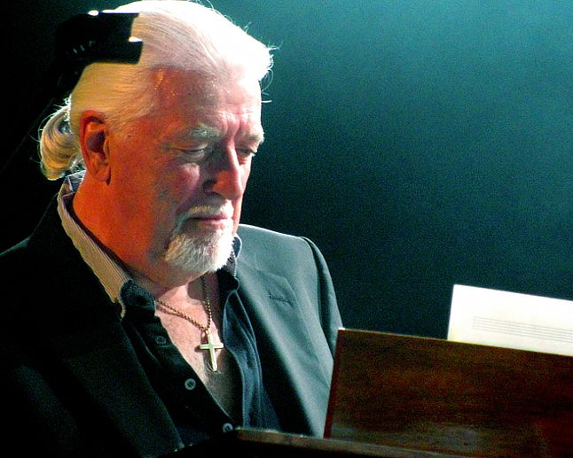 Jon Lord at the Sunflower Jam 2011; Photo © Axel Dauer