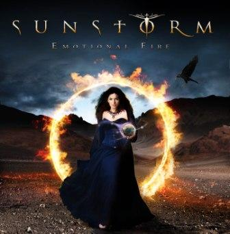 Sunstorm, Emotional Fire cover art; image courtesy of Frontiers Records