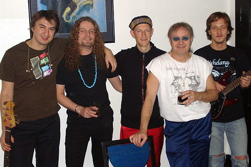 Purpendicular with Ian Paice; photo courtesy of Seher Cosgun