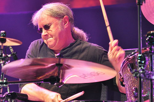 Ian Paice in Kingston, Canada, Feb 9, 2012; photo © Nick Soveiko CC-BY-NC-SA