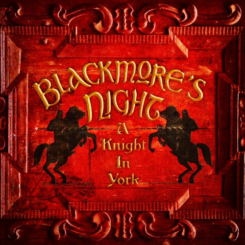 Blackmore's Night: A Knight In York cover art; used under fair dealing exception (news reporting)