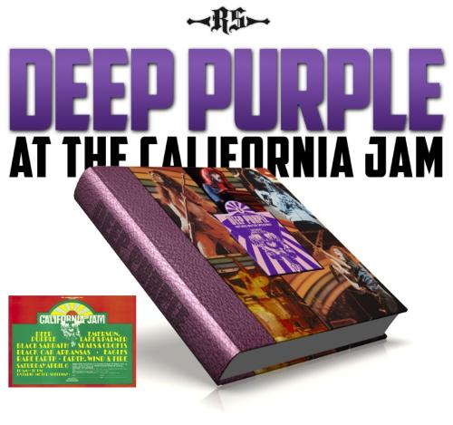 Deep Purple at the California Jam cover mock-up; image courtesy of Rufus Stone