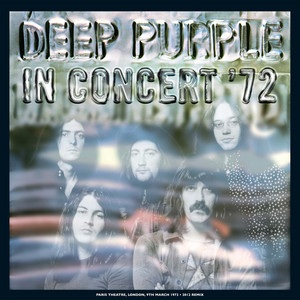 In Concert'72 40th anniversary cover art