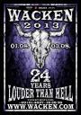 Wacken Open Air 2013 poster