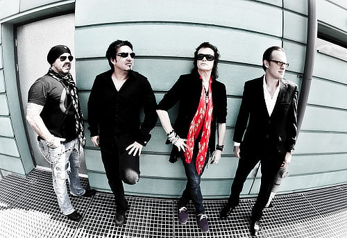 Black Country Communion in 2012; © Christie Goodwin, photo courtesy of Noble PR
