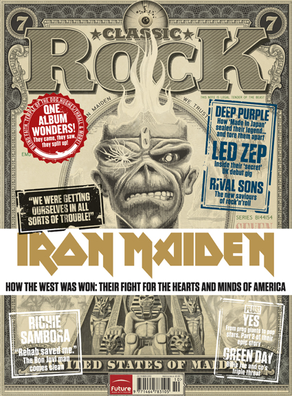 Classic Rock issue 176 cover