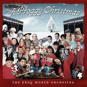 A Proggy Christmas cover art; image courtesy of Radiant Records