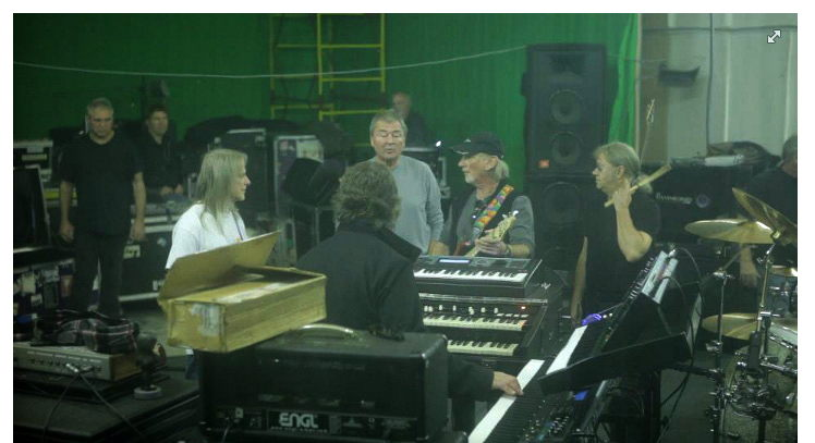 Deep Purple rehearsing in Russia, October 2012; photo courtesy of Romanio