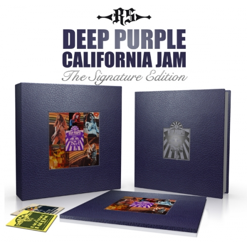California Jam book Signature Edition; image courtesy of Rufus Stone