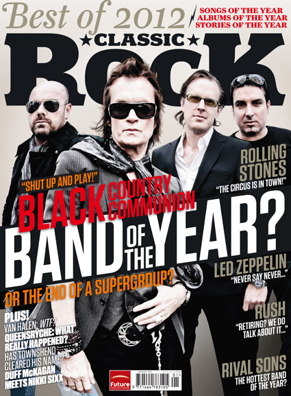 BCC, Classic Rock issue 179 cover