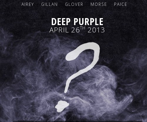 Deep Purple 2013 album art teaser