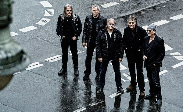 Deep Purple in 2013; photo: Jim Rakette